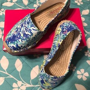 Lilly Pulitzer Wade & Sea Size 10 Lia Espadrille
